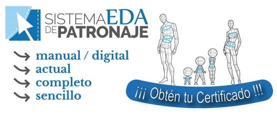 Sistema EDA Patronaje certificado